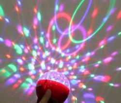 Mini Bluetooth Speaker LED Light Stage Lamp - (LT-003)