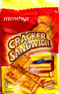 Munchy's Cracker Sandwich 313gm - (TP-0139)