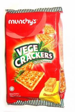 Munchy's Vege Crackers 380gm - (TP-0142)