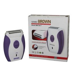 Brown BR 3018 Rechargeable lady shaver - (MANSA-014)