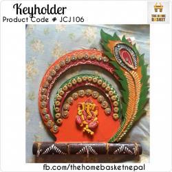 Ganesh Design Keyholder - (JCJ-106)