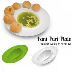 Pani Puri Plate - (AFM-132)