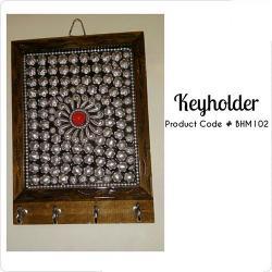 Wooden Keyholder - (BHM-102)