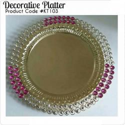 Decorative Platter - (KT-103)