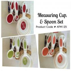 Measuring Cup and Spoon Set - (AFM-125)