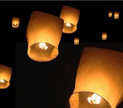 Flying Lantern / Wish Lantern / Wishing Light