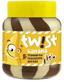 Twist Banana Flavoured Chocolate Spread 400g (TP-0075)