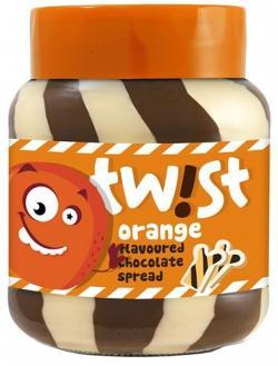 Twist Orange Flavoured Chocolate Spread 400g (TP-0076)