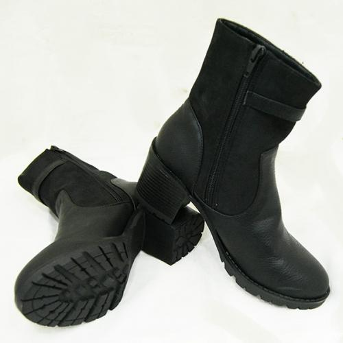 Fashionable Black Ladies Boot - (536-9)