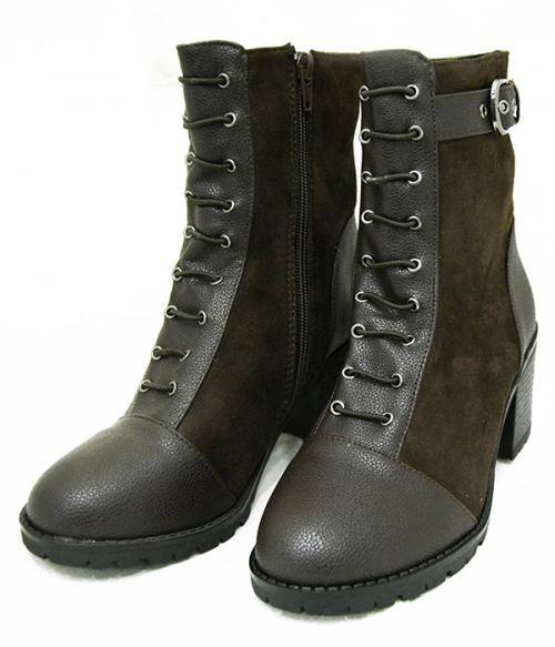 Fashionable Brown Ladies Boot - (369-2)