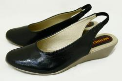 Black Front Closed Ladies Shoes - (053)