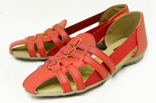 Fashionable Flat Sandal For Ladies - (1855)