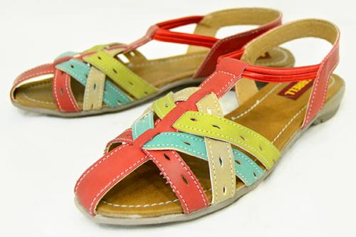 Fashionable Flat Sandal For Ladies - (1730)