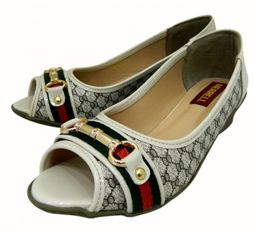 Fashionable Front Open Shoes For Ladies - (1817)
