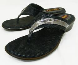 Black Fashionable Ladies Party Wear Sandal - (1337)