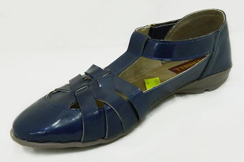 New Fashionable Blue Close Shoes For Ladies - (1858)