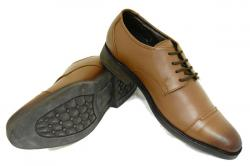 Black Horse Leather Shoes For Men - (2062)
