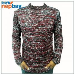 Mix Color Woolen Sweater - (TP-225)