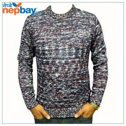 Mix Color Woolen Sweater - (TP-226)