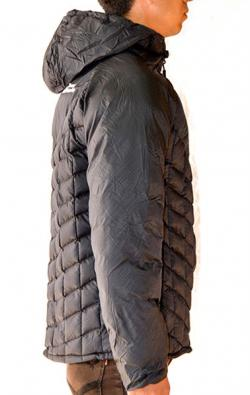 Black Ultra Light Down Jacket - (TP-277)