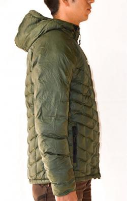 Dark Green Ultra Light Down Jacket - (TP-276)