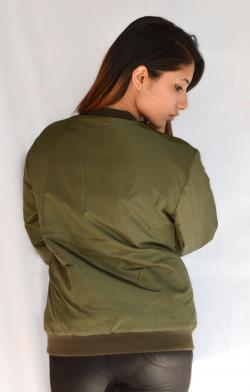 New Stylish Green Ladies Jacket - (ARKO-012)