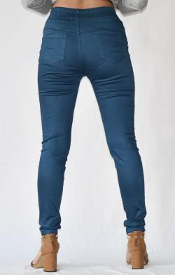 Blue Stretchable Fitting Pant - (ARKO-024)