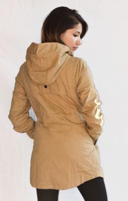New Stylish Cream Color Korean Jacket For Ladies - (ARKO-014)