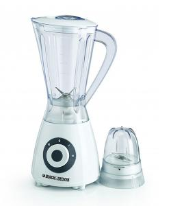 Black & Decker BX390-B5 Blender With Grinder Mill And Chopper Mill 400 Watts - (BX-390)