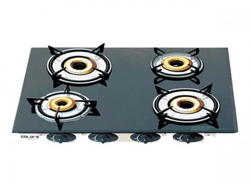 Colors CL-7400 Glass Top Gas Stoves 4 Burners - (CL-7400)