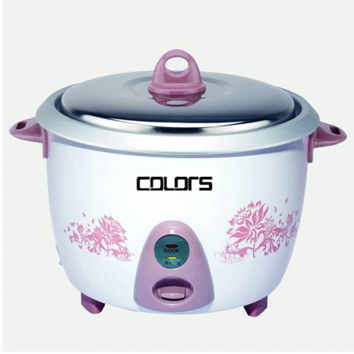 Colors 1.0 Ltr Rice cooker (Normal) CL-RC100 - (CL-RC100)