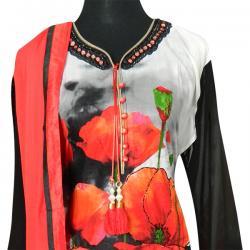 Floral Cotton Kurta Set -(CN-017)