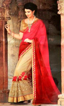 Georgette Party Wear Saree - (CN-025)
