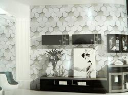 Living Walls Pattern - 3D Wallpaper - Per Roll - (LW-005)