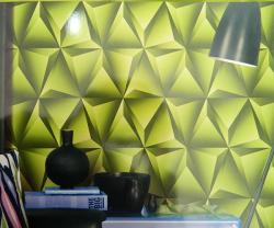 Living Walls Pattern - 3D Wallpaper - Per Roll - (LW-012)