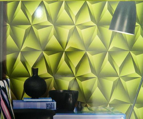 Living Walls Pattern - 3D Wallpaper - Per Roll - (LW-012)