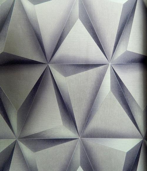 Living Walls Pattern - 3D Wallpaper - Per Roll - (LW-013)