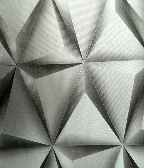 Living Walls Pattern - 3D Wallpaper - Per Roll - (LW-015)