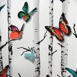 Living Walls Pattern - Contemporary Wallpaper - Per Roll - (LW-069)