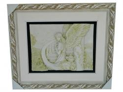 Living Walls Frame - With Angel - (LW-087)
