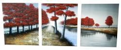 Living Walls Canvas Paintin - Per Piece - (LW-092)