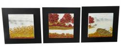 Living Walls 3 Piece Wall Plaque - (LW-093)