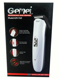 Gemei GM-765 Rechargeable Trimmer For Men, Women - (GM-765)