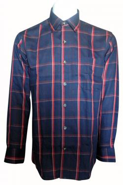Luxury & Factory Woolen Check Shirt - (UB-002)