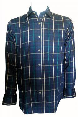 Luxury & Factory Woolen Check Shirt - (UB-003)