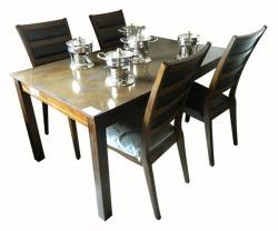 Rectangular Wooden Dinning Table - 4 Seats - (FL227-12)