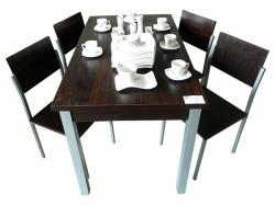 Rectangular Wooden Dinning Table - 4 Seat - (FL244-05)
