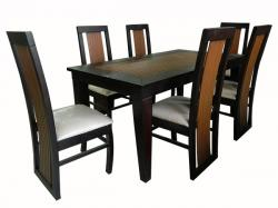 Wooden Dinning Table Set - 6 Seats - (FL-003)