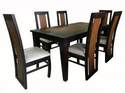 Wooden Dinning Table Set - 6 Seats - (FL-003)