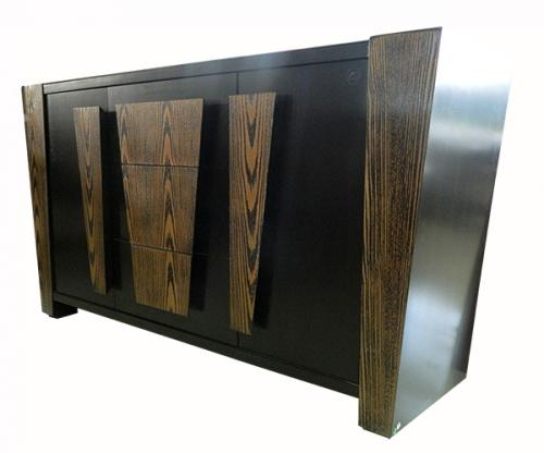 Display Rack - Wood+Glass+Board - (FL560-17)